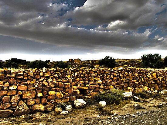 The Stone Wall by Omar Dakhane