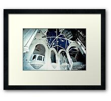 Boundless Blue ~ Chateau Noisy Framed Print