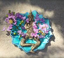 Thailand Lotus Dancer By Jonathan Green by Jonathan  Green