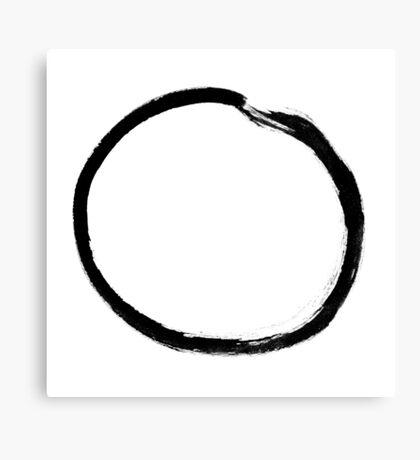 moon (haiga V) Canvas Print