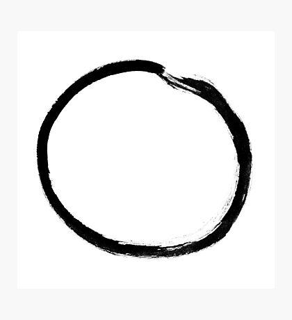 moon (haiga V) Photographic Print