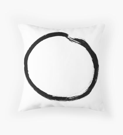 moon (haiga V) Throw Pillow