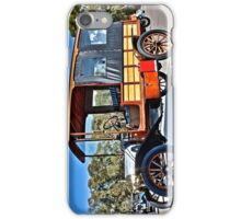 Ford Model T with Wood couchwork iPhone Case/Skin