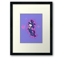 My Little Pony - MLP -  Rarity Radiance Framed Print