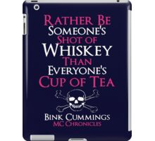Biker - Dark Side Bink Cummings  iPad Case/Skin