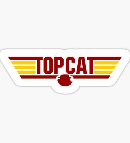 TOP CAT Sticker