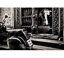 The wooden doors of Stone Town Photographic Print