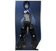 Azure Standing Poster