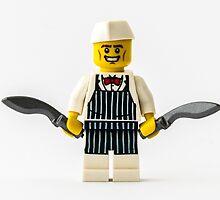Manic Butcher by William Rottenburg