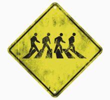 Beatles Crossing Kids Tee