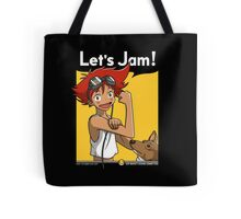 Jamming with Edward Tote Bag