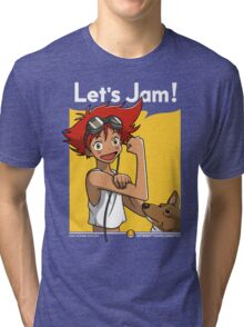 Jamming with Edward Tri-blend T-Shirt