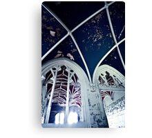 Burning Dark Blue Darkness ~ Chateau Noisy Canvas Print