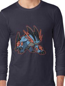 Pokemon - Mega Swampert Long Sleeve T-Shirt