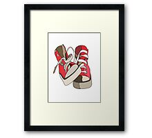 Hightops Framed Print