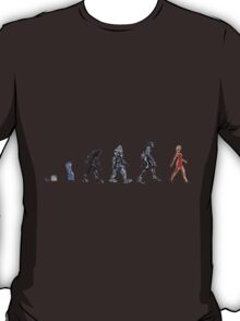 Evolution of The Cylon T-Shirt