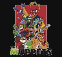The Muppets Cartoon Kids Clothes