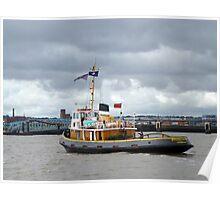 The Tugboat Brocklebank. Poster