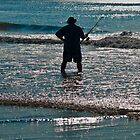 SURF FISHERMEN  by RGHunt