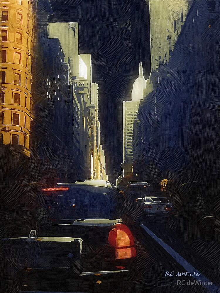 Midtown at Midnight by RC deWinter