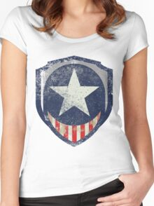 Captain Liberty Women's Fitted Scoop T-Shirt