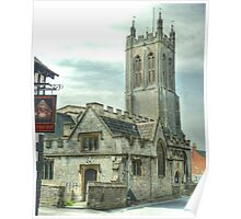 St.Benedict's Church - Glastonbury Poster