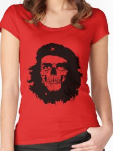 Che of the Dead Revolución de la Muerte Women's Fitted Scoop T-Shirt