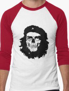 Che of the Dead Revolución de la Muerte Men's Baseball ¾ T-Shirt