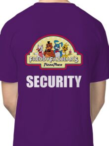 Five Nights at Freddy's - FNAF 2 -  Freddy Fazbear's Security Logo Classic T-Shirt