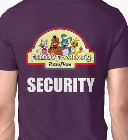 Five Nights at Freddy's - FNAF 2 -  Freddy Fazbear's Security Logo Unisex T-Shirt