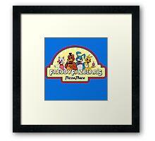 Five Nights at Freddy's - FNAF 2 - Freddy Fazbear's Logo  Framed Print
