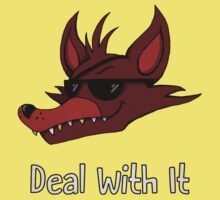 Five Nights at Freddy's - FNAF - Foxy - Deal With It One Piece - Short Sleeve