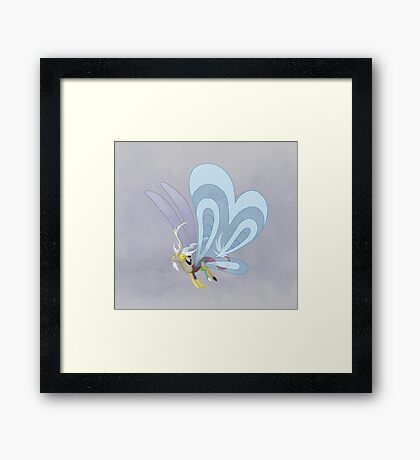 My Little Pony - Discord Breezie Framed Print