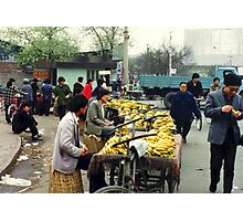 Bananas, Beijing Photographic Print