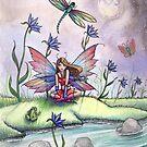 """Magic at Dusk"" Fairy Art by Molly Harrison by Molly  Harrison"