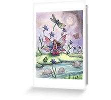 """Magic at Dusk"" Fairy Art by Molly Harrison Greeting Card"