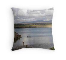 Keadue Bay, Donegal, Ireland  Throw Pillow