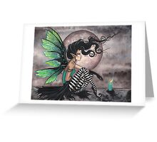"""Secret Place"" Fairy Art by Molly Harrison  Greeting Card"
