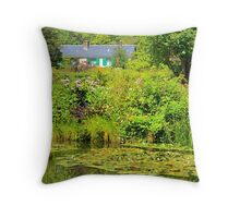 Monet's House at Giverny Throw Pillow