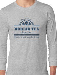 MoriarTea Blue Long Sleeve T-Shirt