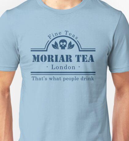 MoriarTea Blue Unisex T-Shirt