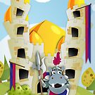 Hippo Hoppo - Castle by W6 | Design Graphique