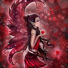 &quot;Hearts&quot; Valentine Heart Fairy by Molly Harrison by Molly  Harrison