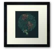Pince Atlas Framed Print