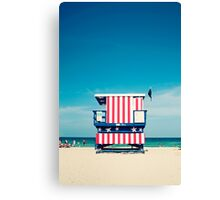 Baywatcher Canvas Print