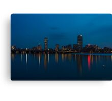 Boston from the Charles Canvas Print