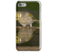 White Plumed Narcissus iPhone Case/Skin