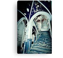 Vaults of Blue ~ Chateau Noisy Canvas Print