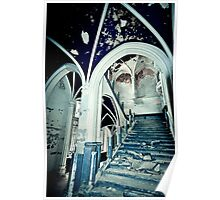 Vaults of Blue ~ Chateau Noisy Poster