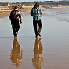 On the Beach by Karen Millard